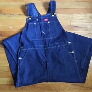 Dickies new without tags indigo overalls